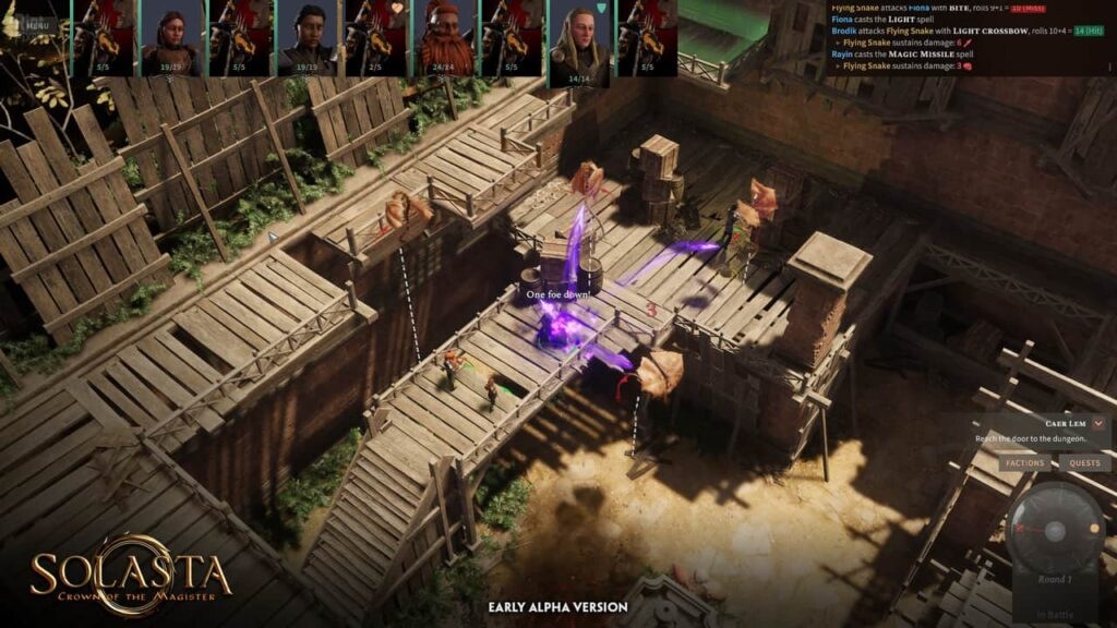 Solasta Crown of the Magister Torrent Download